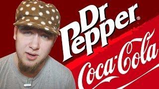 Сравнения #DrPepper или Coca-cola?