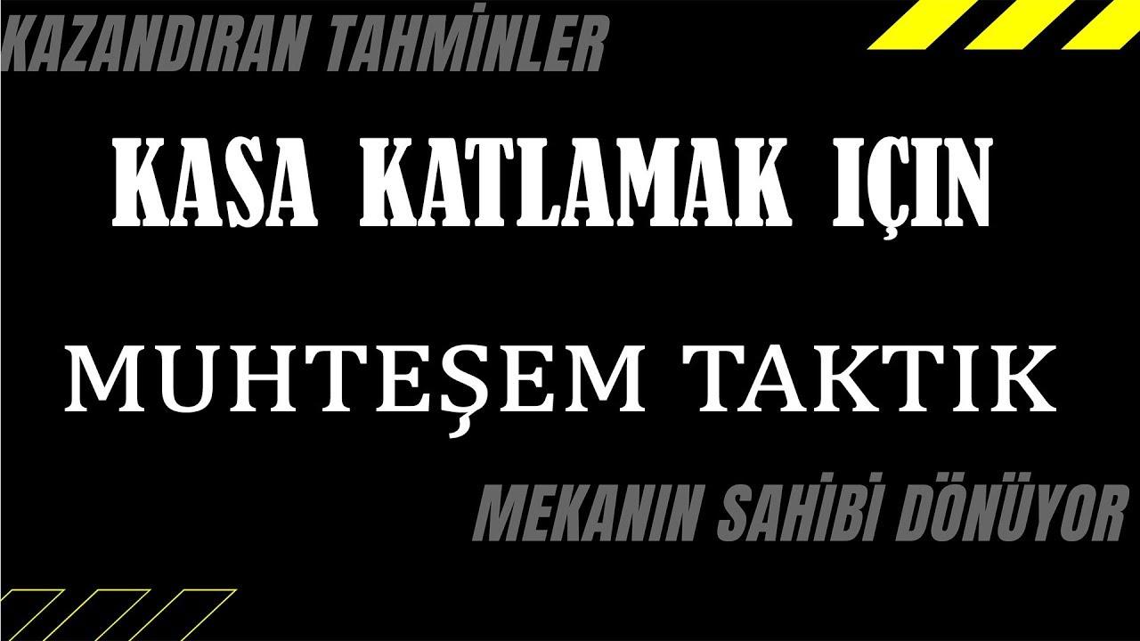 TÜRKİYE'DE BİR İLK KANITLI İDDAA ANALİZİ İLE PARA KAZANMAK ÇOK KOLAY!!