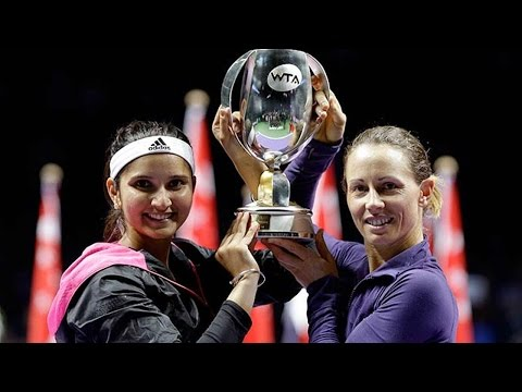 Sania Mirza creates history by winning WTA doubles title with teammate Cara