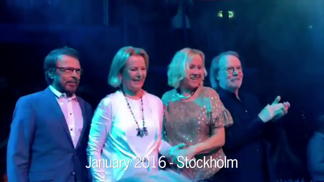 ABBA Reunion Footage January 20 The Way Old Friends Do