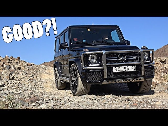 What I REALLY think of the Mercedes G63 AMG...