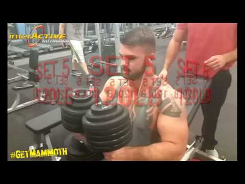 Execution Style Mammoth chest day gain mass on your chest @interactive #getmammoth #Teammammoth