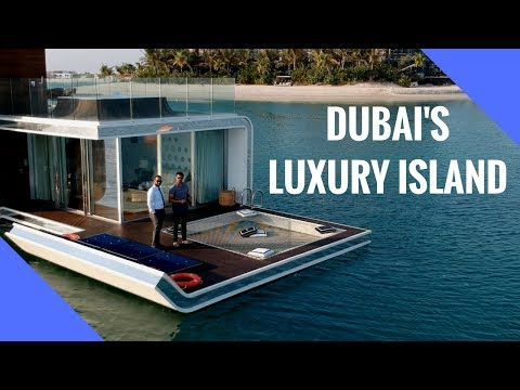 Dubai billionaires secret luxury island!