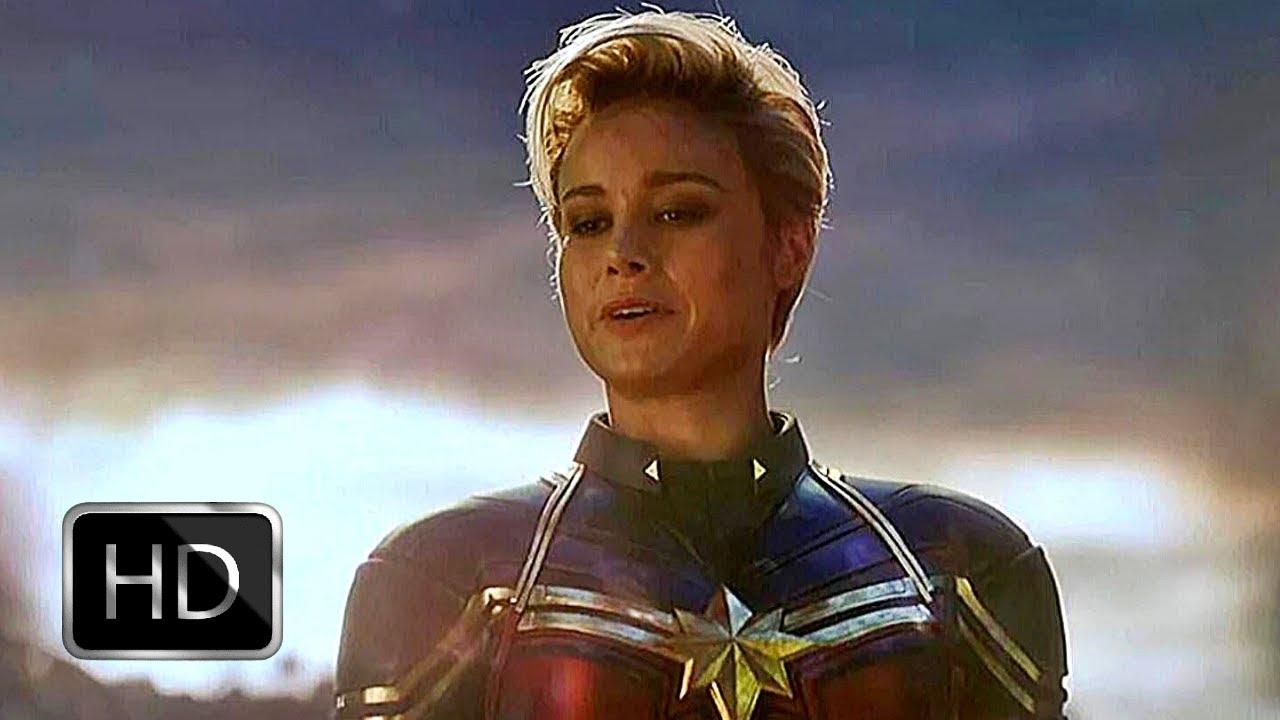 Download Fight Scene: Captain Marvel Carries Gauntlet | Avengers: Endgame (2019) (HD)