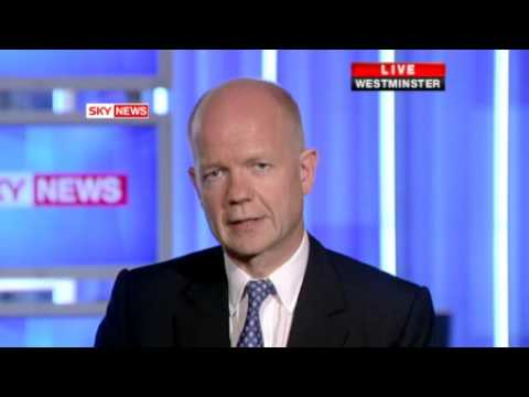 William Hague Attacks Brown's Iraq Inquiry