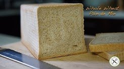 Whole Wheat Pain de Mie – Bruno Albouze – THE REAL DEAL