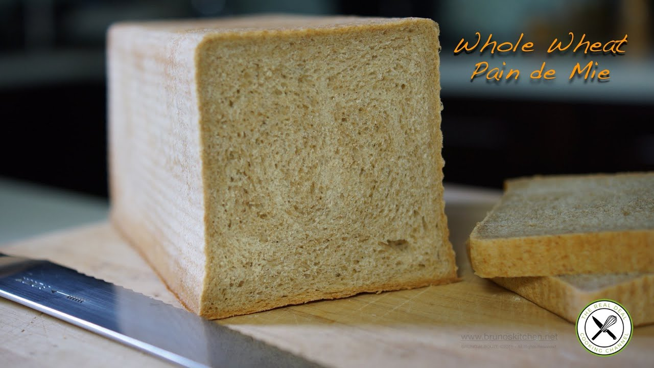 Whole Wheat Pain De Mie Bruno Albouze The Real Deal