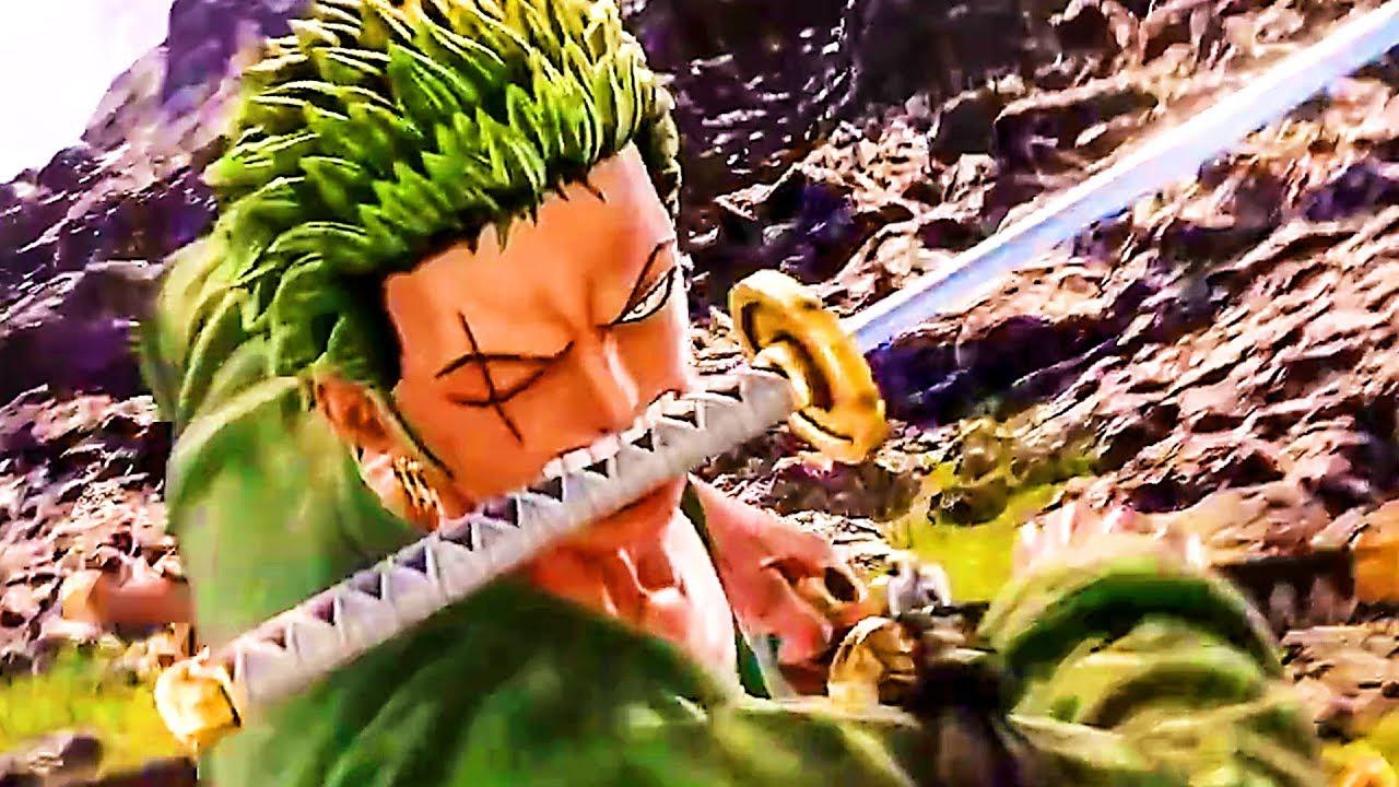 JUMP FORCE : Zoro VS Sasuke Bande Annonce de Gameplay (2018) PS4 / Xbox One / PC