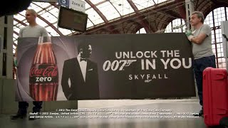 Unlock the 007 in you   Skyfall   Coca Cola Commercial