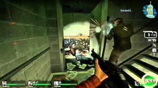 Left 4 Dead Co-op Прохождение Часть 1