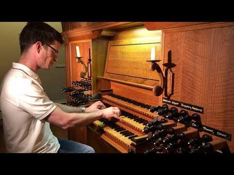 Demo of the North German Organ at Salem Lutheran, Wausau, WI