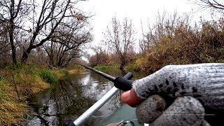 Попали на жор в маленькой речке!! Мы не ожидали столько наловить рыбы здесь! Рыбалка на спиннинг.