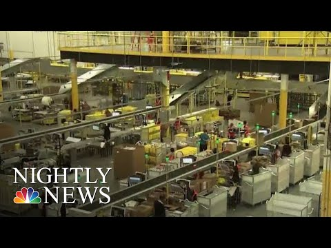Some Amazon Workers Go On Strike As Prime Day Begins | NBC Nightly News
