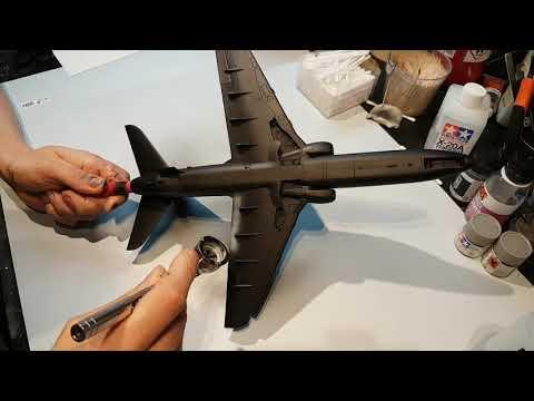 1:32 Bae Hawk Mk 51 HW 314 Part 2 - Fuselage and painting