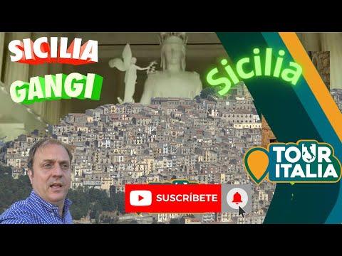 Gangi Sicilia Italia TOUR ITALIA tv programa 3