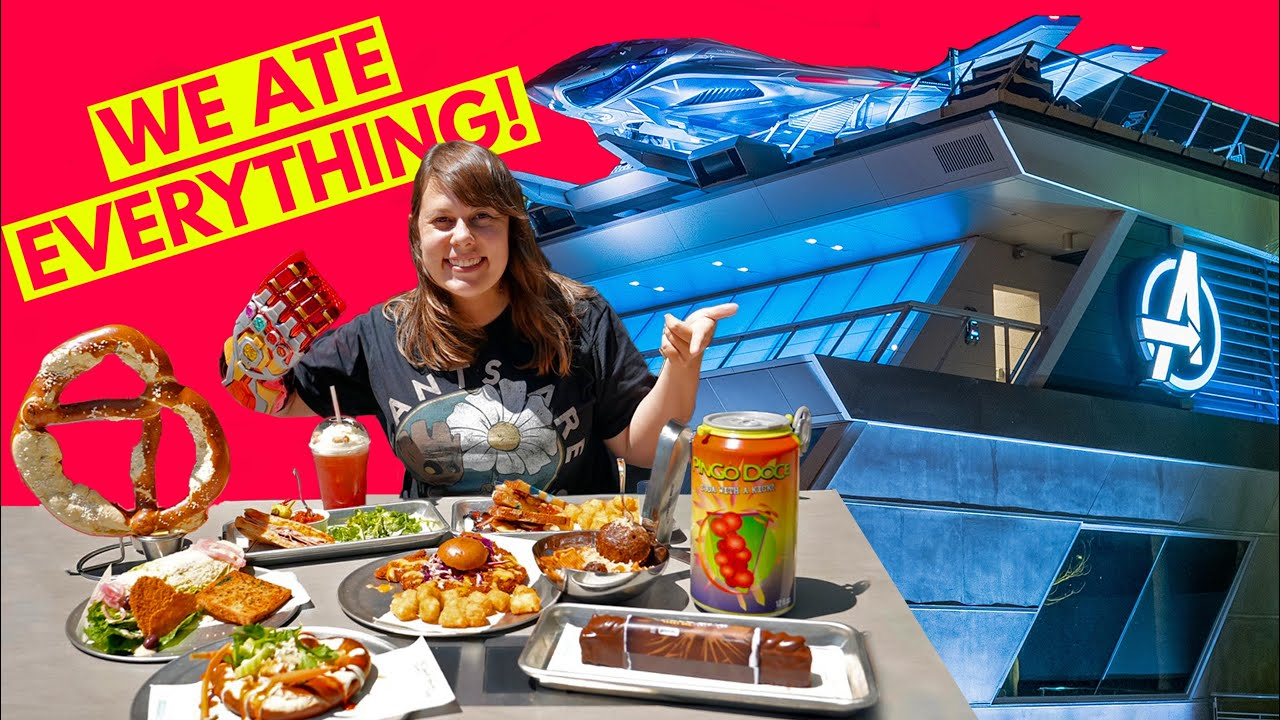 Avengers Campus Food - What's GOOD, What's BAD?