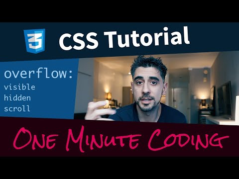 CSS Overflow Tutorial - One Minute Coding thumbnail
