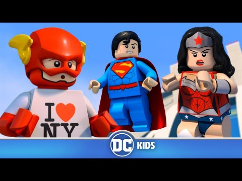 LEGO Justice League Cosmic Clash | Hide And Seek | DC Kids