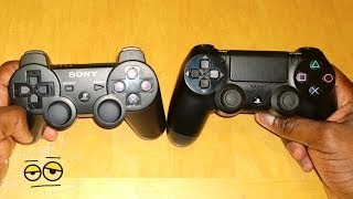 Sony PS4 Dualshock 4 vs PS3 Dualshock 3 Controller Review