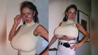 Repeat youtube video Extreme largest & Biggest Breasts Compilation