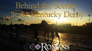 Behind the Scenes at the Kentucky Derby
