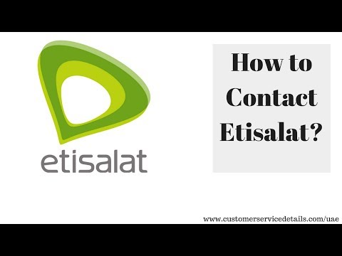 Etisalat Customer Care Number, Office Address, Email ID, Website