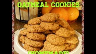 Coconut Pecan Oatmeal Cookies Recipe Homemade