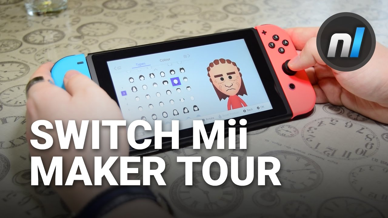 how to change mii on switch