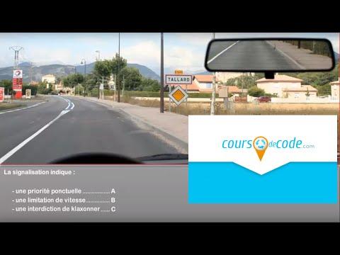 Examen code de la route 2017 - Permis de conduire code de la route gratuit (mise en ligne sept 2013)