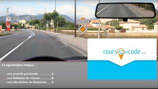 Examen code de la route 2018 - Permis de conduire code de la route gratuit (mise en ligne sept 2013)