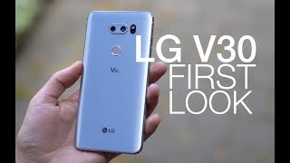 LG V30 First Look and Tour!