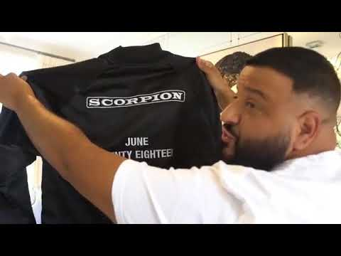 DJ KHALID Scorpion Jacket