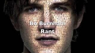 Bo Burnham - Rant