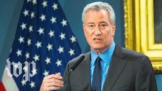 WATCH: New York Mayor Bill de Blasio provides update on coronavirus