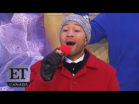 John Legend Caught Lipsyncing At Thanksgiving Day Parade Mp3