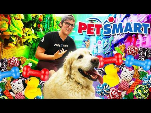 Buying ANYTHING My Dog SNIFFS At PET SMART!