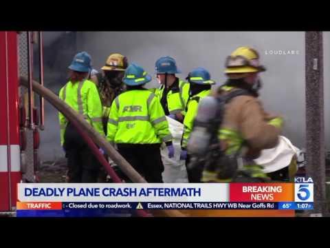 Riverside Homes Destroyed, Damaged in Plane Crash