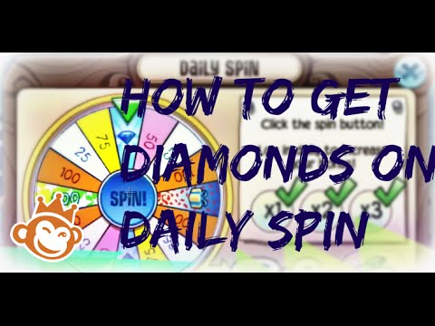 How To Get Diamonds On The Daily Spin On Animal Jam