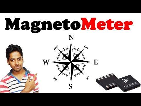 Magnetometer sensor  Explain with details in hindi
