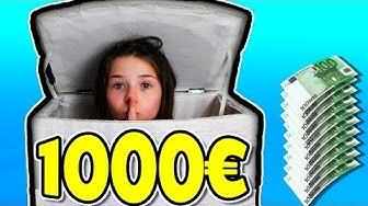 VERSTECK SPIEL IM GANZEN HAUS 🙈 Gewinner kriegt 1000€ ! Lulu & Leon