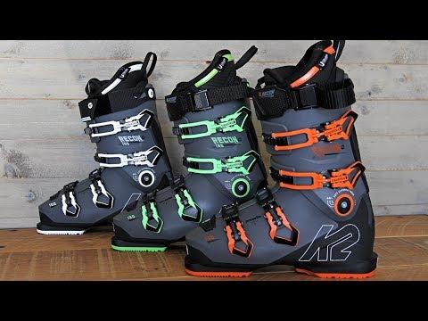 4511ab92c142 2019 K2 RECON 130 SKI BOOT REVIEW-similar to Salomon ski boots ...