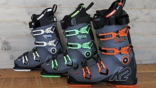 The Ski Boot School Episode 7 - New boots from K2 Recon & Luv
