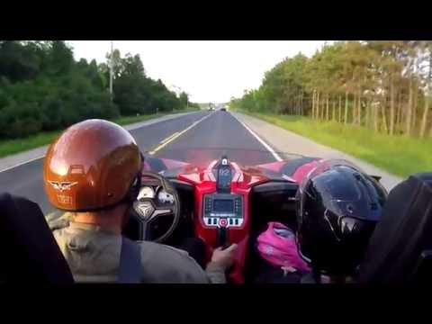 120 Kilometer run in the SLINGSHOT and down the 400 series highways