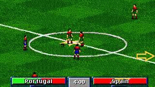 MD FIFA Soccer 97 Gold Edition - Portugal vs Spain