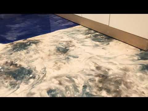 Mettalic colored Epoxy flooring in srilanka