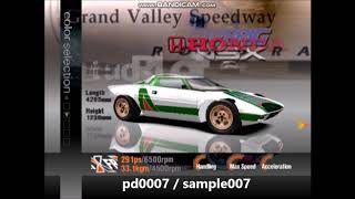Gran Turismo 3 US Demo- All Cars Part 11 (Sample Cars)
