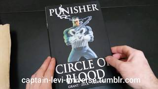 Punisher Circle of Blood HC Unboxing