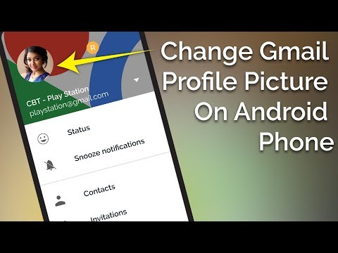How To Change Gmail Profile Picture On Android Phone