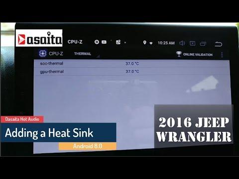Adding a Heat Sink to a Dasaita Hot Audio PX5 Android head unit