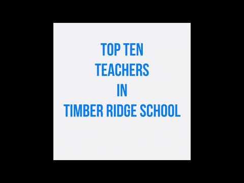 Top ten teachers at timber ridge school